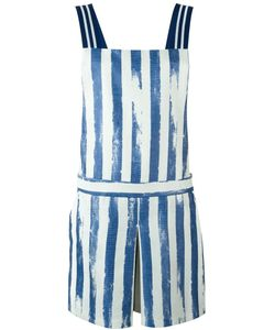 Cristiano Burani | Striped Print Playsuit