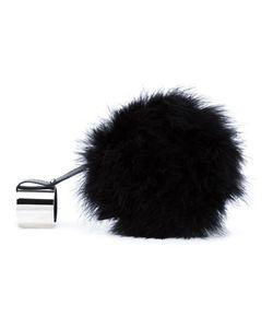 PERRIN PARIS | Fuzzy Round Clutch