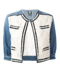 Aviù | Pearl Trim Denim Jacket