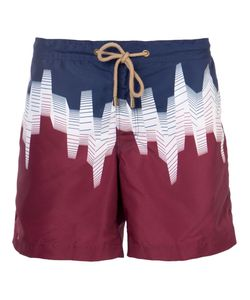 THORSUN | Tricolour Swim Shorts