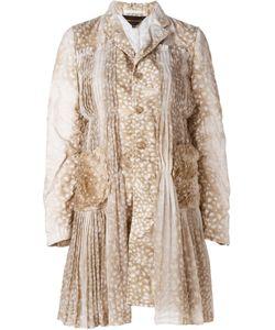 Comme Des Garcons | Плиссированное Пальто