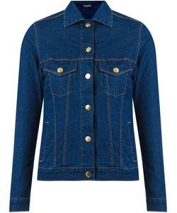 Amapô | Classic Polo Collar Denim Jacket