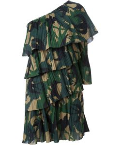 Sonia Rykiel | Многоярусное Платье На Одно Плечо