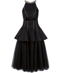 DOMINIC LOUIS | Платье С Пышной Юбкой Из Тюля