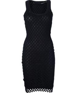 Alexander Wang | Облегающее Платье В Сетку