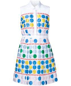 Delpozo | Расклешенное Платье-Рубашка Без Рукавов