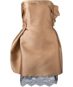 Lanvin | Платье С Кружевным Подолом
