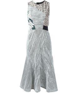 Cedric Charlier | Платье С Панельным Дизайном