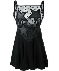 GIAMBA | Мини-Платье С Кружевной Панелью