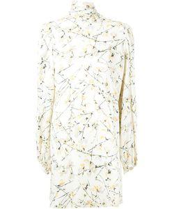 Alexander McQueen | Мини-Платье С Цветочным Принтом