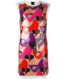 Lanvin | Платье-Шифт С Пайетками
