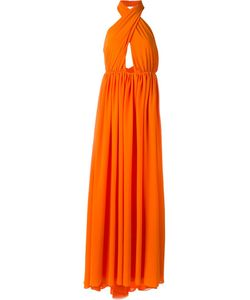 MSGM | Платье С Петлей-Хальтер