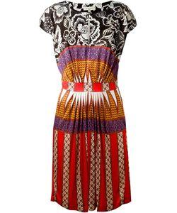 Etro | Платье С Комбинированным Принтом