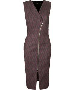 ANDREA MARQUES | Платье С V-Образным Вырезом Без Рукавов