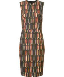 ANDREA MARQUES | Приталенное Платье С Круглым Вырезом