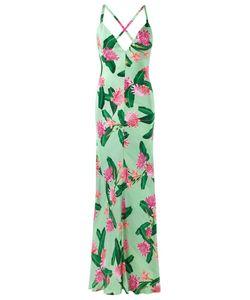 Isolda | Шелковое Платье С Цветочным Принтом