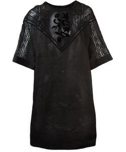 Ermanno Scervino | Платье С Кружевными Панелями