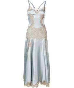 Dolce & Gabbana   Платье С Кружевной Отделкой