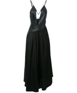 Mugler | Длинное Платье С Открытой Спиной