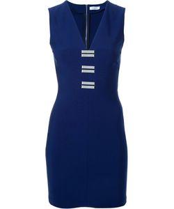 Mugler | Платье С Металлическими Деталями