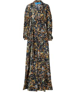JONATHAN COHEN | Waist Band Sunflower Print Dress