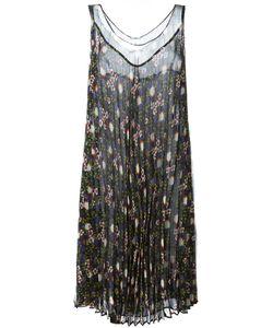 P.A.R.O.S.H. | Плиссированное Платье С Цветочным Принтом
