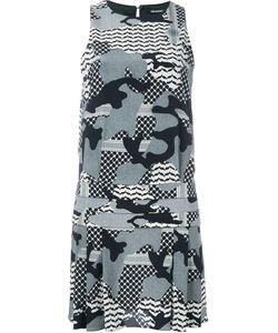 Neil Barrett | Платье С Камуфляжным Принтом