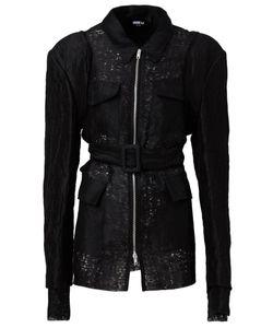 Yang Li | Приталенная Куртка С Поясом