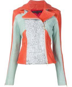 DOMINIC LOUIS | Panelled Biker Jacket
