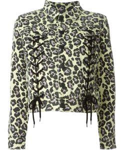 Sibling | Куртка С Леопардовым Принтом