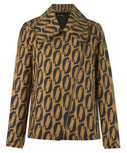 ANDREA MARQUES | Abstract Print Blazer