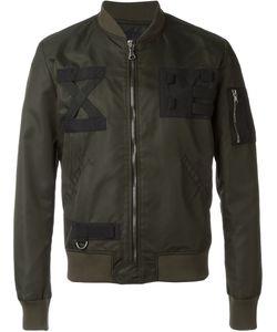 LETASCA | Куртка-Бомбер С Контрастными Нашивками