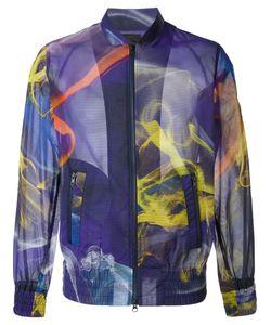 Y-3 | Куртка-Бомбер С Абстрактным Принтом