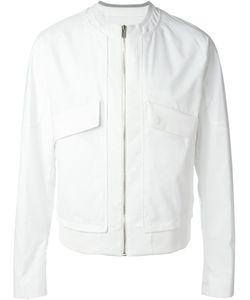 SYSTEM HOMME | Long Flap Pockets Zip Jacket