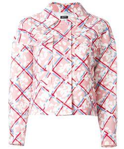 Jil Sander Navy | Куртка С Цветочным Принтом