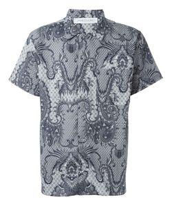 James Long | Рубашка С Принтом Пейсли