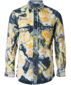 James Long | Джинсовая Рубашка С Абстрактным Принтом