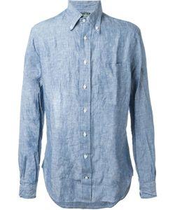Gitman Vintage | Рубашка С Мятым Эффектом