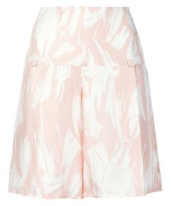 Yigal Azrouel | High Waisted Flared Shorts