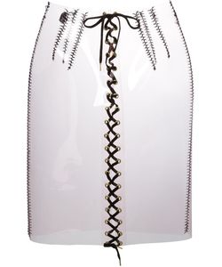 Sibling | Lace-Up Skirt