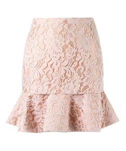MARTHA MEDEIROS | High Waist Lace Skirt