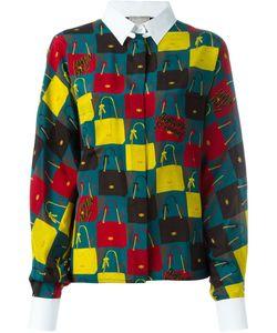 Lanvin | Рубашка С Принтом Сумок