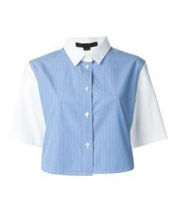 Alexander Wang | Укороченная Рубашка В Полоску