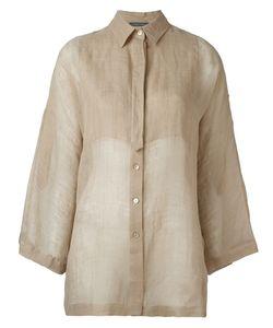 Alberta Ferretti | Рубашка С Рукавами-Колокол