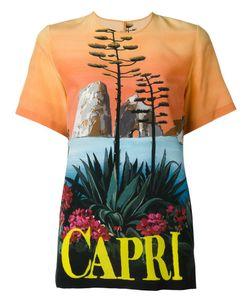 Dolce & Gabbana | Футболка С Принтом Capri