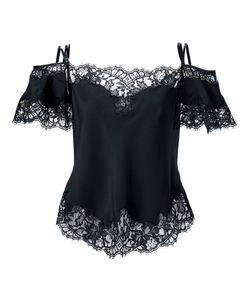Givenchy | Блузка С Кружевной Отделкой