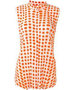 PLEATS PLEASE BY ISSEY MIYAKE | Плиссированная Рубашка С Узором В Горох
