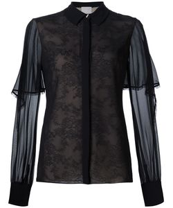 Jason Wu | Overlay Detail Laced Shirt