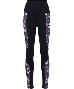 LIVE THE PROCESS | Printed Panel Leggings