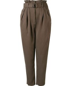 ANDREA MARQUES | Pleated High Waisted Trousers